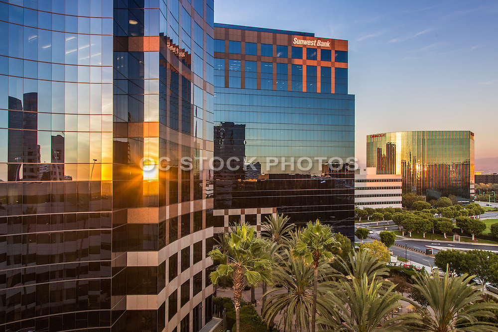 Wells Fargo and Sunwest Bank Buildings in Irvine