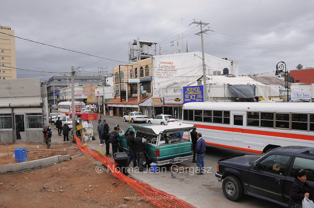 The border town of Nogales, Sonora, Mexico, has seen a decline in tourists from neighboring Arizona, USA, because of state department travel advisories due to drug cartel violence in the border towns.