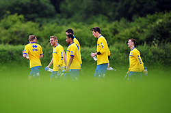 The players arrive for pre season training - Photo mandatory by-line: Dougie Allward/JMP - Tel: Mobile: 07966 386802 24/06/2013 - SPORT - FOOTBALL - Bristol -  Bristol Rovers - Pre Season Training - Npower League Two