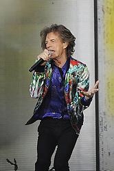 June 19, 2018 - London, England, United Kingdom - 6/19/18.Keith Richards, Mick Jagger, Ron Wood and Charlie Watts of ''The Rolling Stones'' perform at Twickenham Stadium in London, England. (Credit Image: © Starmax/Newscom via ZUMA Press)