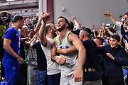 Marco Spissu<br /> Banco di Sardegna Dinamo Sassari - Unet Hapoel Holon<br /> Fiba Europe Cup 2018-2019 Semifinale Gara Ritorno<br /> Sassari, 17/04/2019<br /> Foto L.Canu / Ciamillo-Castoria