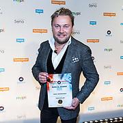 NLD/Utrecht/20181001 - Buma NL Awards 2018, Wesly Bronkhorst krijgt de award voor Meest succesvolle single - Hollands