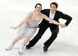 23.03.2010, Torino Palavela, Turin, ITA, ISU World Figure Skating Championships Turin 2010 im Bild Tessa Virtue und Scott Moir (CAN), EXPA Pictures © 2010, PhotoCredit: EXPA/ InsideFoto/ Perottino / SPORTIDA PHOTO AGENCY