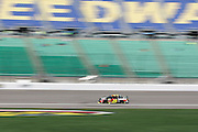 Jeff Gordon practices for a NASCAR Sprint Cup series auto race, Friday, May 9, 2014, at Kansas Speedway in Kansas City, Kan. (AP Photo/Colin E. Braley)