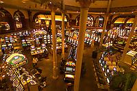 Slot machines, Main Street Station Casino, Las Vegas, Nevada USA