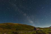 Milky Way over Zumwalt Prairie