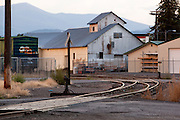 An empty Montana railroad yard. Missoula Photographer, Missoula Photographers, Montana Pictures, Montana Photos, Photos of Montana