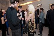 LITTLE BOOTS, VOLT & F.TAPE Crystallized, Swarovski Crystallized Cosmos & Lounge. Great Marlborough St. London. 19 February 2010