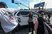 Peaceful protests turn violent in Fairfax district