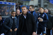 Birmingham City first team manager Gary Rowett during Birmingham City and Brighton and Hove Albion at St Andrews, Birmingham, England on 5 April 2016.