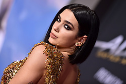 Dua Lipa attends the Premiere Of 20th Century Fox's 'Alita: Battle Angel' at Westwood Regency Theater on February 05, 2019 in Los Angeles, CA, USA. Photo by Lionel Hahn/ABACAPRESS.COM