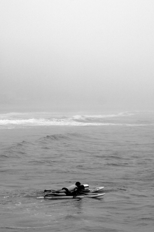 Fog at Manly, a photo by axelbluhme