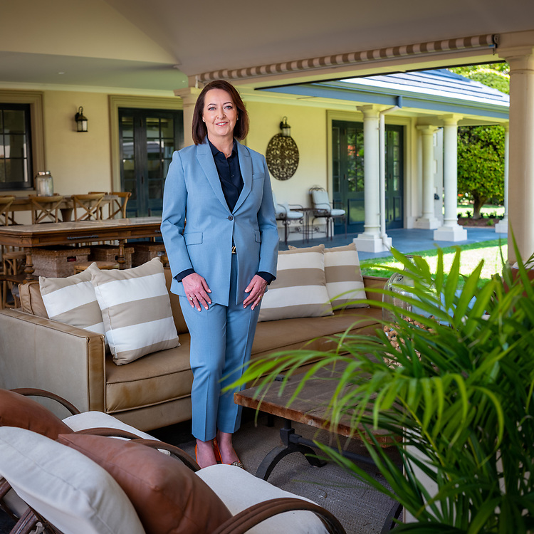 Jody Fewster at a property in the Mosman Park/Cottesloe area of Western Australia today Tuesday October 13, 2020.
