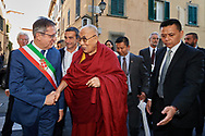 Public Talk in Pisa Square and the Opening of a Mind Science Symposium with Dalai Lama, Pisa, Italy