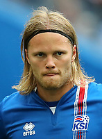 Uefa - World Cup Fifa Russia 2018 Qualifier / <br /> Iceland National Team - Preview Set - <br /> Birkir Bjarnason