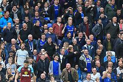 1st October 2017 - Premier League - Everton v Burnley - Everton fans express their discontent - Photo: Simon Stacpoole / Offside.