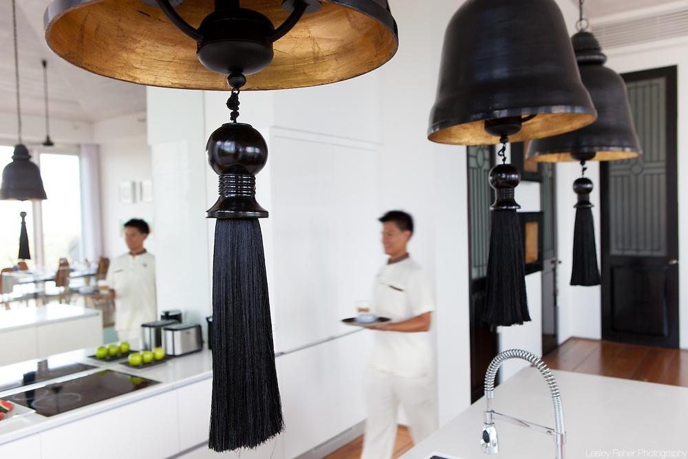Kitchen at Villa Belle a Luxury, private villa on Koh Samui, Thailand