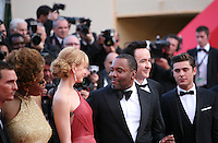 Matthew Mcconaughey, Macy Gray, Lee Daniels, John Cusack, Zac Efron,  at The Paperboy gala screening red carpet at the 65th Cannes Film Festival France. Thursday 24th May 2012 in Cannes Film Festival, France.