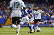 Fulham defender Ryan Fredericks (2) & Ipswich Town midfielder Cole Skuse (8) battles for possession during the EFL Sky Bet Championship match between Ipswich Town and Fulham at Portman Road, Ipswich, England on 26 August 2017. Photo by Phil Chaplin.
