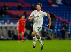 CARDIFF, WALES - Sunday, November 15, 2020: Republic of Ireland's James Collins during the UEFA Nations League Group Stage League B Group 4 match between Wales and Republic of Ireland at the Cardiff City Stadium. Wales won 1-0. (Pic by David Rawcliffe/Propaganda)