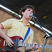 Surfer Blood play the third day of the 2010 Pitchfork Music Festival in Chicago, IL.