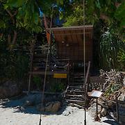Swings on Sunrise Beach near Serendipity Resort, Ko Lipe, Thailand