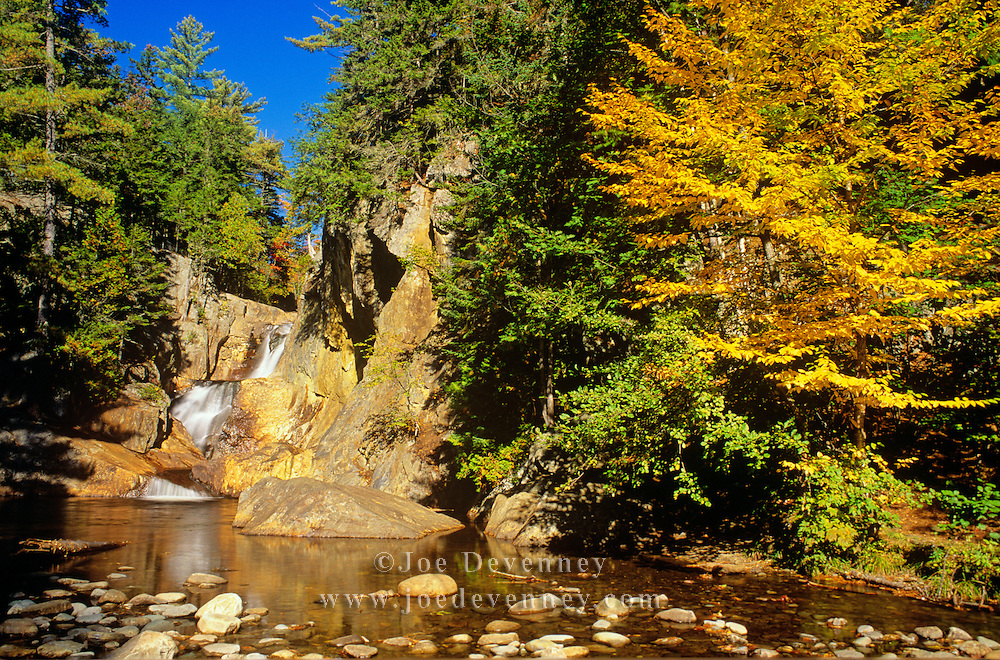 Autumn along the Sandy River. Small's Falls. Madrid, Maine