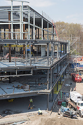 Bridgeport Hospital - Park Avenue Campus Outpatient Center. Architect: Shepley Bulfinch. Contractor: Gilbane Building Company, Glastonbury, CT. James R Anderson Photography, New Haven CT, photog.com. Date of Photograph: 4 May 2015  Submission 14.