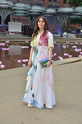 TANIA FARES at the V&A Summer Party in association with Harrod's held at The V&A Museum, London on 22nd June 2016.