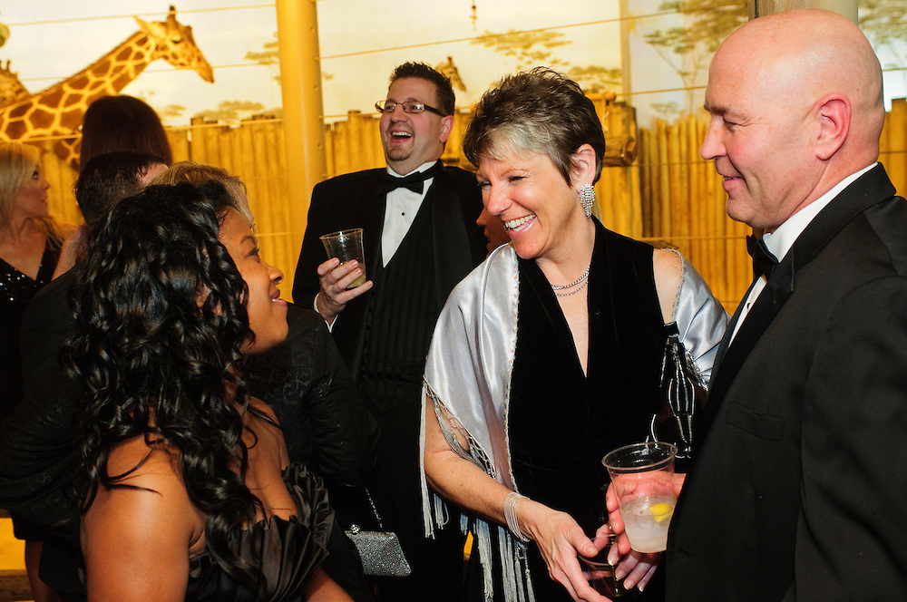 From left to right- Attorney Chantelle A. Porter of A. Traub & Associates chats with Dupage County Circuit Court Judge Jane H. Mitton and Max Solar Inc. Owner Ray E. Keller at The DuPage Association of Women Lawyers Zoo Ball at Brookfield Zoo on Friday, November 16th. The annual gala benefits Safe Harbor, a children's waiting room at the DuPage County Courthouse. Both Sharon Mulyk and Rebecca Lahoand © 2012 Brian J. Morowczynski ViaPhotos