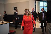 DEU, Deutschland, Germany, Berlin, 05.07.2016: Cemile Giousouf, Integrationsbeauftragte der CDU/CSU-Bundestagsfraktion, bei der Fraktionssitzung der CDU/CSU im Deutschen Bundestag.