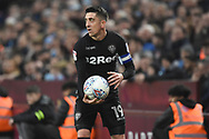 Leeds United midfielder Pablo Hernandez (19) during the EFL Sky Bet Championship match between Aston Villa and Leeds United at Villa Park, Birmingham, England on 13 April 2018. Picture by Alan Franklin.