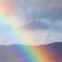 Colourful Rainbow Closeup, Ireland / rb014