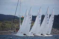Clyde Cruising Club's Scottish Series 2019<br /> 24th-27th May, Tarbert, Loch Fyne, Scotland<br /> <br /> Day 1, Etchells Start<br /> <br /> Credit: Marc Turner / CCC