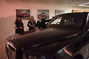 MATTHEW STEEPLES; MELLENEY SAMSUDIN, Hubert de Vinols hosts the launch of Tables D'Exception, Rolls Royce Showroom,  Berkeley Sq. London. 29 November 2018