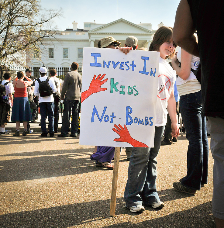 People from around the country converged on Washington, DC on March 20,2010 to demand the immediate and unconditional withdrawal of all U.S. and NATO forces from Afghanistan and Iraq.