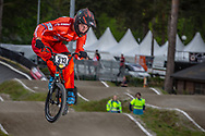 #313 (KIMMANN Niek) NED during round 3 of the 2017 UCI BMX  Supercross World Cup in Zolder, Belgium,