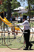 2009 Guildford Heritage Festival, Western Australia, pennyfarthing, bicycle, antique, penny farthing, penny-farthing