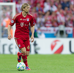 19.05.2012, Allianz Arena, Muenchen, GER, UEFA CL, Finale, FC Bayern Muenchen (GER) vs FC Chelsea (ENG), im BildAnatoliy Tymoshchuk, (FC Bayern München #44) during the Final Match of the UEFA Championsleague between FC Bayern Munich (GER) vs Chelsea FC (ENG) at the Allianz Arena, Munich, Germany on 2012/05/19. EXPA Pictures © 2012, PhotoCredit: EXPA/ Peter Rinderer