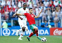 Younes Belhanda (Morocco)<br /> Moscow 20-06-2018 Football FIFA World Cup Russia  2018 <br /> Portugal - Morocco / Portogallo - Marocco <br /> Foto Matteo Ciambelli/Insidefoto