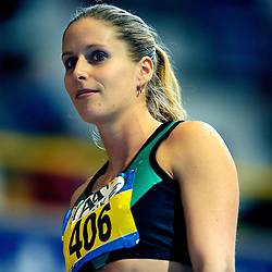 07-02-2010 ATLETIEK: NK INDOOR: APELDOORN<br /> Nederlands kampioen 400 meter Sanne Verstegen<br /> ©2010-WWW.FOTOHOOGENDOORN.NL