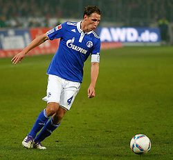 06.11.2011, AWD-Arena, Hannover, GER, 1.FBL, Hannover 96 vs FC Schalke 04, im Bild  Benedikt Hoewedes (Schalke #4)  .// during the match from GER, 1.FBL, Hannover 96 vs  FC Schalke 04 on 2011/11/06, AWD-Arena, Hannover, Germany. .EXPA Pictures © 2011, PhotoCredit: EXPA/ nph/  Schrader       ****** out of GER / CRO  / BEL ******