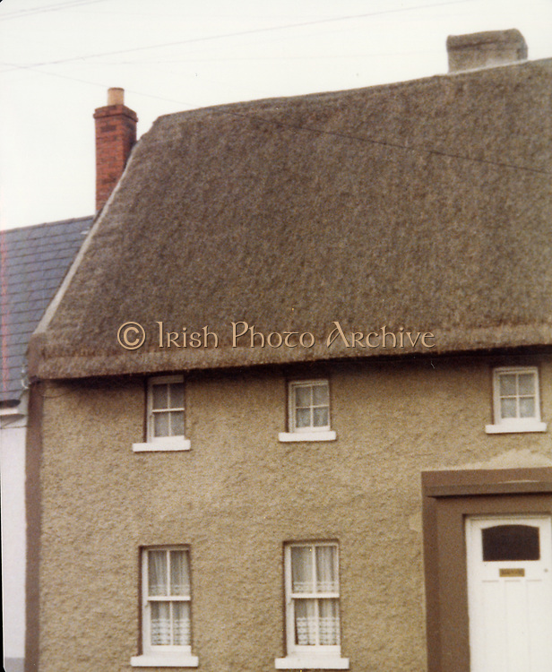 Old Dublin Amature Photos December 1983 with, Capel St, Cuckoo Lane, Tramoheads, Dartry, St Michaels School, Shop Dunlaoire, Thomas St, Cornmarket, Dublin Cartll, St Muhans Gates, Church St, Quinns Butchers, High St, thatched roof,