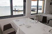"""Ibo"" restaurant in Lisbon, with views to Tagus river."