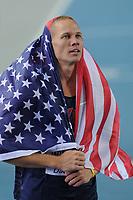 ATHLETICS - IAAF WORLD CHAMPIONSHIPS 2011 - DAEGU (KOR) - DAY 6 - 01/09/2011 - PHOTO : STEPHANE KEMPINAIRE / KMSP / DPPI - <br /> HIGH JUMP - MEN - FINALE - GOLD MEDAL - JESSE WILLIAMS (USA)