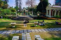 Nepal, Vallee de Kathmandu, Ville de Katmandou, Garden of Dreams // Nepal, Kathmandu valley,  Kathmandu city, Garden of Dreams