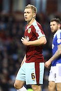 Ben Mee of Burnley looks on. Skybet football league Championship match, Burnley v Ipswich Town at Turf Moor in Burnley, Lancs on Saturday 2nd January 2016.<br /> pic by Chris Stading, Andrew Orchard sports photography.
