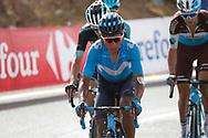 Nairo Quintana (COL - Movistar), during the UCI World Tour, Tour of Spain (Vuelta) 2018, Stage 9, Talavera de la Reina - La Covatilla 200,8 km in Spain, on September 3rd, 2018 - Photo Luis Angel Gomez / BettiniPhoto / ProSportsImages / DPPI