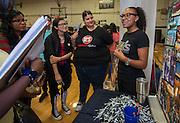 School Choice Fair at Westbury High School, September 17, 2016.