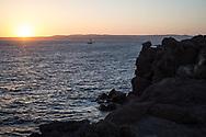 The sunset, western coast of the island of Sant'Antioco. Federico Scoppa 2017